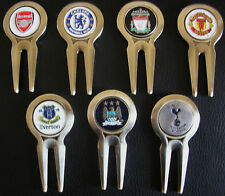 1 only GOLF DIVOT TOOL WITH  MAN.UTD, SPURS, ARSENAL,CHELSEA,EVERTON,MAN.CITY