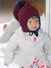 Boys' No Pattern 100% Wool Baby Caps & Hats