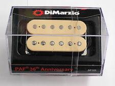 DiMarzio REGULAR SPACED PAF 36th Anniversary Neck Humbucker Creme DP 103