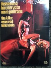 Killer Reserved Nine Seats DVD Camera Obscura Giallo