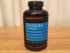 Amazon Elements Calicum Complex, Calicum, Vitamin D2, Magnesium, 195 Capsules