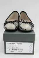 HOBBS Ladies Snakeskin Print Slip On Prior Ballerina Shoes Flats UK6 BNIB