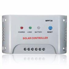 Regolatore di Carica MPPT 30A 12V/24V Panello Solare Regulator Controllore LED