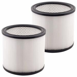 2 Pack Filter Cartridges 90304 90350 90333 Type U for Shop Vac Wet/Dry Vacs