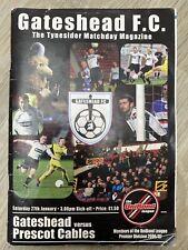 Gateshead v Prescot Cables (2006/07) - Northern Premier (Unibond) League