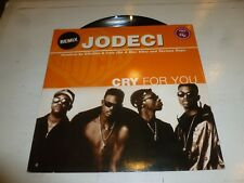 """JODECI - Cry For You - 1994 UK 3-track 12"""" vinyl single"""