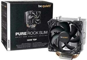Be Quiet! Pure Rock Slim, 120W TDP, CPU Cooler for Intel/AMD, New Thermal Paste