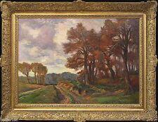 Künstlerische Malereien im Impressionismus-Stil mit Landschafts- & Stadt-Motiv
