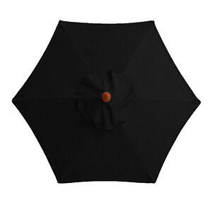 Outdoor Umbrella Patio Garden Parasol Sun Shade Offset Uv Hanging Beach Canopy