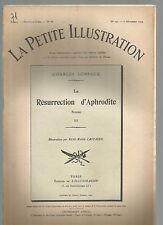 LA PETITE ILLUSTRATION N°172 - LA RESURRECTION D'APHRODITE ROMAN DE C. GENIAUX 3
