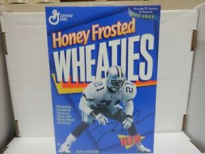 Unopened Box of Honey Frosted Wheaties - Prime Time Deion Sanders -