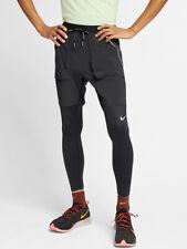 Nike Dri-Fit Utility Running Pants Tights Hybrid Slim Fit Black  Medium