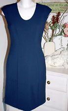 Noa Noa Etuikleid Kleid  Dress  ohne Arm Soft Structure Black Iris size: 36 Neu