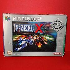 VINTAGE 1998 NINTENDO 64 N64 F-ZERO X CARTUCCIA VIDEOGIOCO PAL versione BOXED