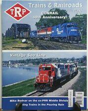 Trains & Railroads of the Past Issue 5 Conrail 40th Anniversary FREE SHIPPING sb