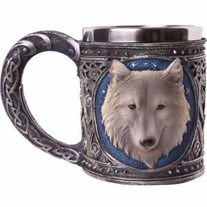Ghost - Wolf Tankard/Mug - Collectible - Drinking Vessel Gift