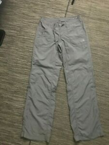 The North Face Womens 2 Stow Pocket Pants Gray