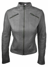 Women's Fashion Jacket Excellent Quality Slim Fit Top Stylish Gray Bomber Jacket