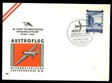 Austria 1963 First Flight Cover FFC, Olag - Aua #C4872