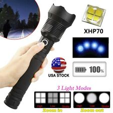 XHP70.2 Led Flashlight 350000 Lumens Most Powerful 26650 USB Rechargeable Torch