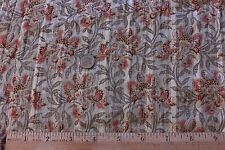 2 Pieces French Victorian Printed Voile Batiste Fabric c.1890~Dolls