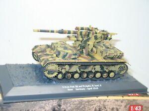 IXO ALTAYA 1:43, char allemand 8,8 cm FLAK    militaire ref: 44