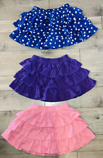 Hanna Andersson Girls SZ 6/120 Ruffled Skort Skirt Pink Purple Blue Polka Dot