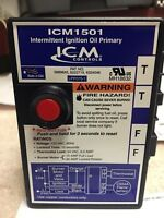 Oil Furnace Ignition Primary Control, ICM Controls, ICM1501, Honeywell R8184