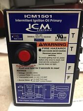Oil Furnace Ignition Primary Control, ICM Controls, ICM1501, Honeywell R8184