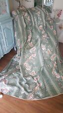 Huge top end bespoke vintage country  house curtain birds& florals triple pleat