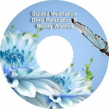2 x Guided Meditation Help With Money Worries & Deep Relaxation on 1 CD