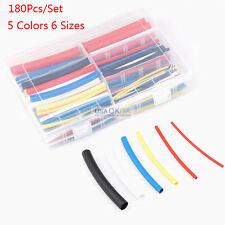 180Pcs Marine Heat Shrink Tubing Tube Assortment 3:1 Electrical Wire Sleeve Wrap