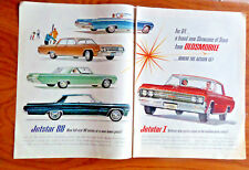 1964 Oldsmobile Olds Jetstar 88 Ad Convertible Celebrity Holiday Jetstar 1