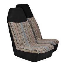 Pinstripe Saddle Blanket Bucket Seat Cover
