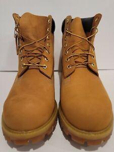 *New* Men's Timberland Size 7.5 Premium 6-inch Medium Tan Waterproof Boot