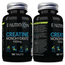CREATINE MONOHYDRATE BUILD STRENGH & MUSCLE SIZE 2000mg PER SERVING 120 TABLETS