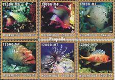 Mosambik 2638-2643 postfris MNH 2002 Wereld van Marine