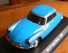 CITROEN DS 19 COUPE BLEU RICOU 1959 1/43 NOREV BLUE new VEHICULE MINIATURE
