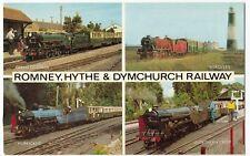 Romney, Hythe & Dymchurch Light Railway, Miniature Locomotives Multiview PPC