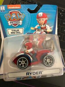 Paw Patrol True Metal Ryder NEW