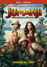 Jumanji: Welcome to the Jungle (DVD, 2018)