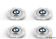 NEW GENUINE BMW E34 E36 E39 ALLOY WHEEL HUB CENTER CAPS SET OF FOUR STYLE 19