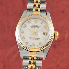 Rolex Lady Datejust Stahl / Gold Automatik Damenuhr Oyster Perpetual Ref. 69173