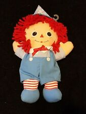 2000 Hasbro Baby Raggedy Andy Plush Doll Stuffed Toy Collectible