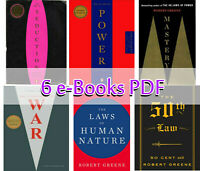 Robert Greene Set - Power + War + Mastery 6 ËBooks Kit P.DF - Fast Delivery