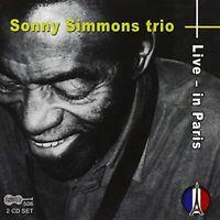 LIVE IN PARIS - SIMMONS SONNY/TRIO [CD]