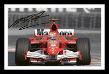 MICHAEL SCHUMACHER AUTOGRAPHED SIGNED & FRAMED PP POSTER PHOTO