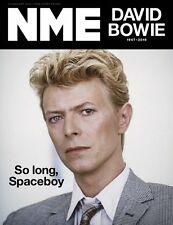 Starman DAVID BOWIE Photo Cover Special UK NME MAGAZINE JANUARY 2016