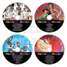 Collection of Childrens Stories, Kids Fairytale Audiobooks (4 x CD Audio Discs)