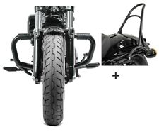 Barra antipánico + sissybar cr1 para Harley sportster 883 04-10